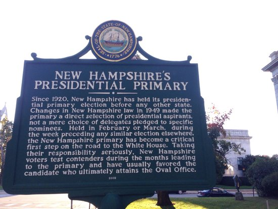 New Hampshire State House : Across the street