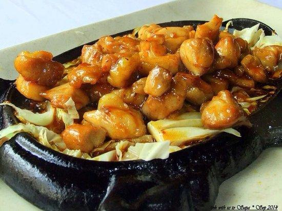 Nature Bar & Grill Restaurant: Best honey duck dish'