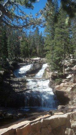 Mirror Lake Scenic Byway: Provo River Falls
