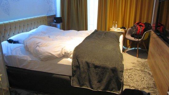 Puro Hotel: cama exquisita