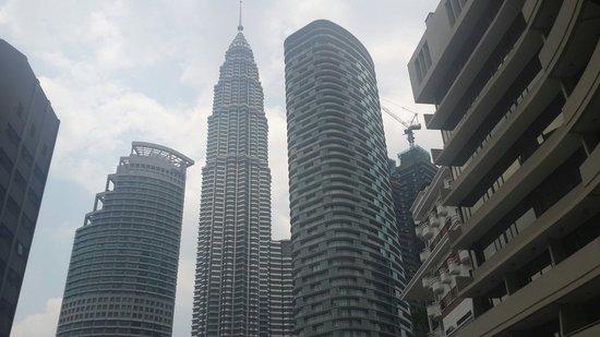 Corus Hotel Kuala Lumpur : Terrace view