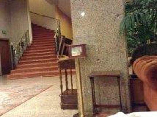 Gran Hotel San Martin: La recepcion
