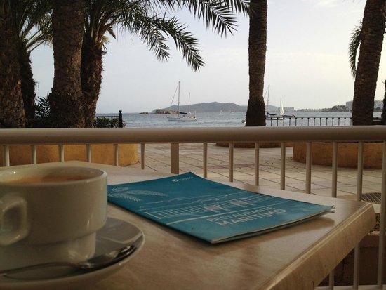 Hotel Playasol Maritimo : Desde la terraza del bar del hotel
