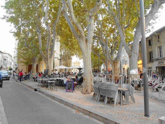 L'Atelier des thés : outdoor seating