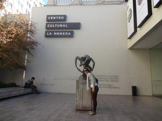 Centro Cultural Palacio La Moneda: Entrada