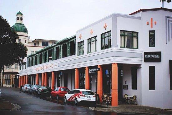 masonic hotel napier picture of art deco masonic hotel