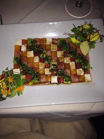 M'ocean : Mosaic salad, edible art