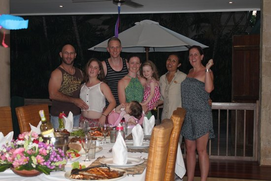 Sienna Villas: Birthday celebrations with Wayan