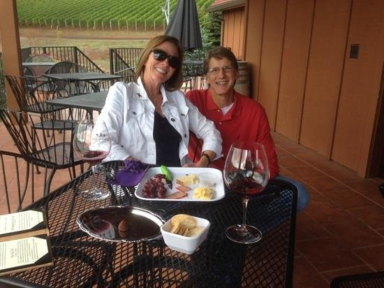 A Nose For Wine Tours : DePonte Cellars with Fred!