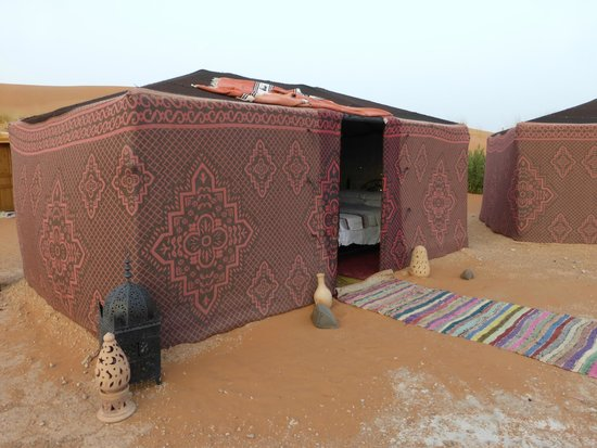 Ali & Sara's Desert Palace: Sleeping tent