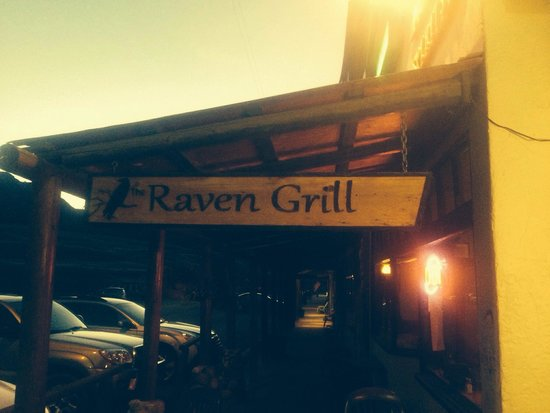 The Raven Grill : Don't judge a book by its cover or location!