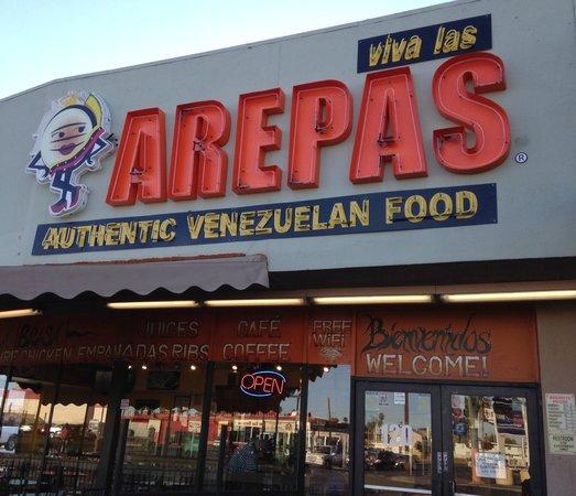 Viva Las Arepas: On Las Vegas Blvd
