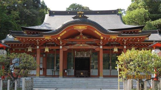 Nagaoka Tenmangu: 社殿