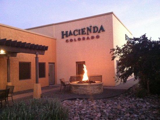 Hacienda Colorado : From the north