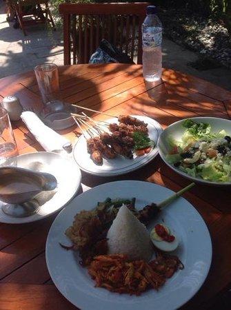 Hotel Puri Cendana: great food for under $15 Aus