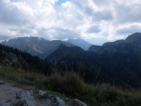 Mount Tegelberg: アルプス方面