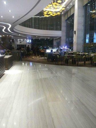 Novotel Ahmedabad: Decent Lobby