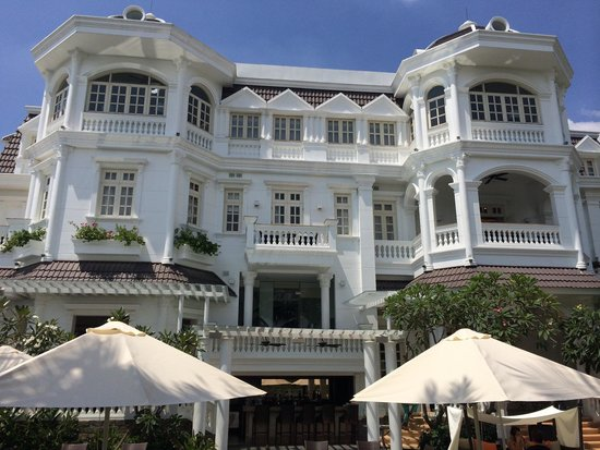 Villa Song Saigon : The beautiful riverside view of Villa Song