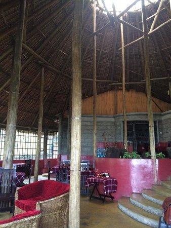 Maili Saba Camp - Nakuru: Main hall