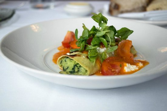 Naha: cannelloni of Swiss chard