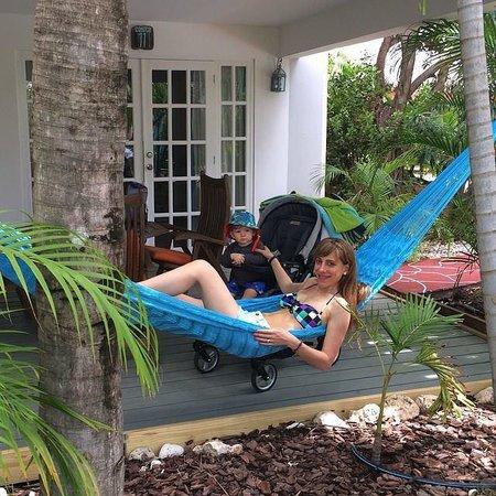 Boardwalk Hotel Aruba : La terraza de nuestra casita