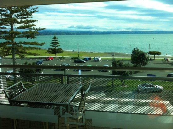 The Crown Hotel Napier: Could handle waking up to this forever