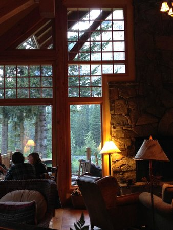 Cathedral Mountain Lodge: Nice ambiance