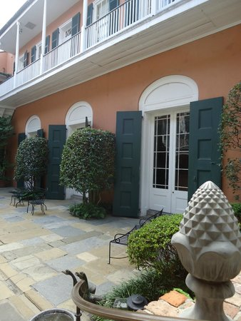 Historic New Orleans Collection: Pretty little courtyard inside