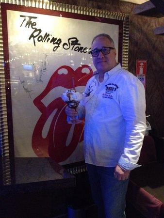 Hard Rock Cafe Santo Domingo : Con el mejor postre!!!