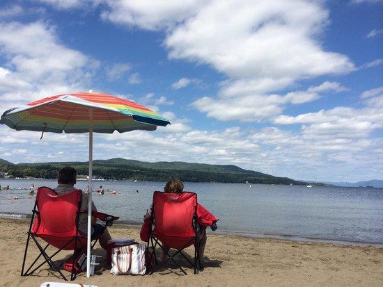 Million Dollar Beach: Beautiful Lake George
