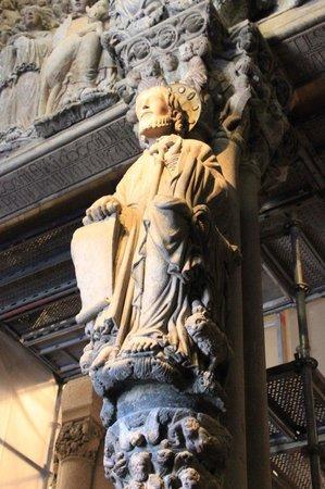 Portico de la Gloria : El Apostol