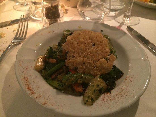 Le Tourbillon: Plat Wok Légumes avec parmesan