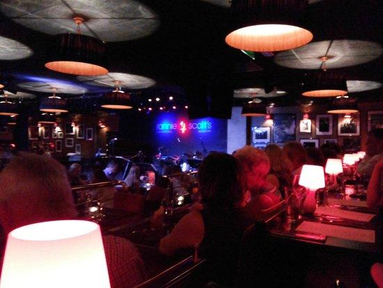 Ronnie Scott's: The Jazz bar with retro style decor