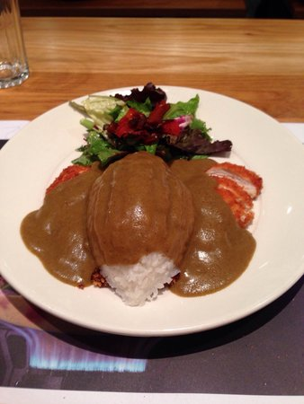 Chicken Katsu Curry The Best Dish On The Menu Picture Of