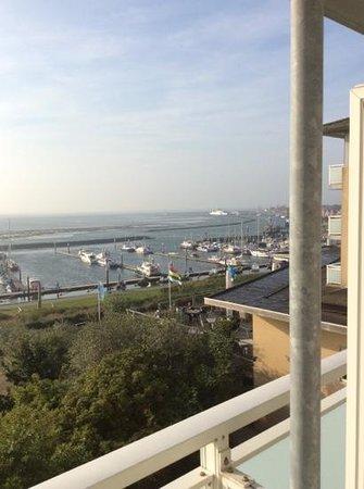 WestCord Hotel Schylge: het uitzicht vanaf onze hotelkamer