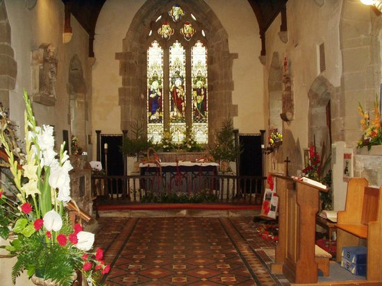 Sutton Cheney, UK: Altar
