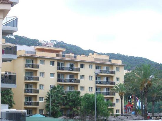 Hotel MoreMar: Вид с балкона