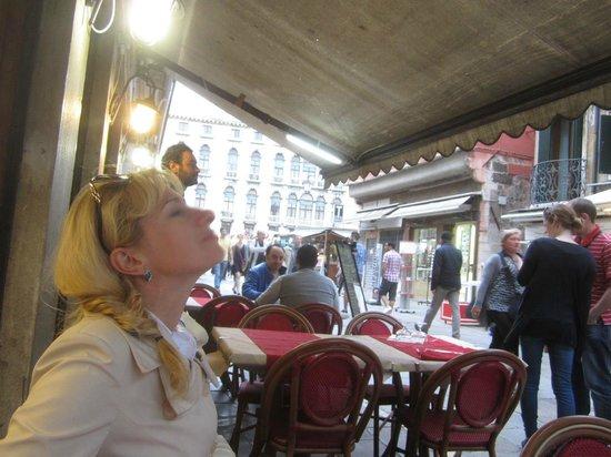 Ristorante Pizzeria Da Giorgio: В ожидании обеда - вдыхаем воздух Венеции