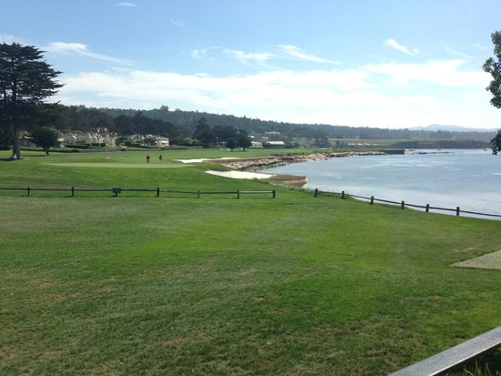 The Lodge at Pebble Beach: View form my room