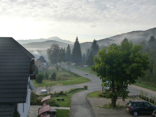 Plitvice Miric Inn: View from our room