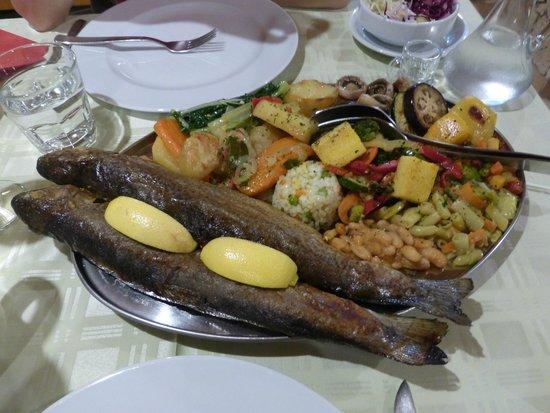 Plitvice Miric Inn: Delicious dinner!