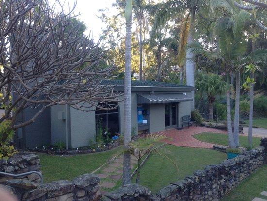 Korora Bay Village Resort: Reception