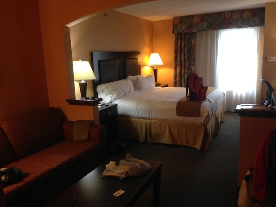 Holiday Inn Express & Suites Rolla: Chambre (King Suite)