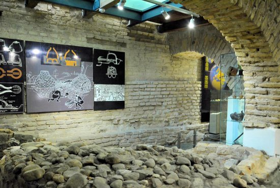 Amber Museum-Gallery (Gintaro Muziejus-Galerija): 採掘場の再現