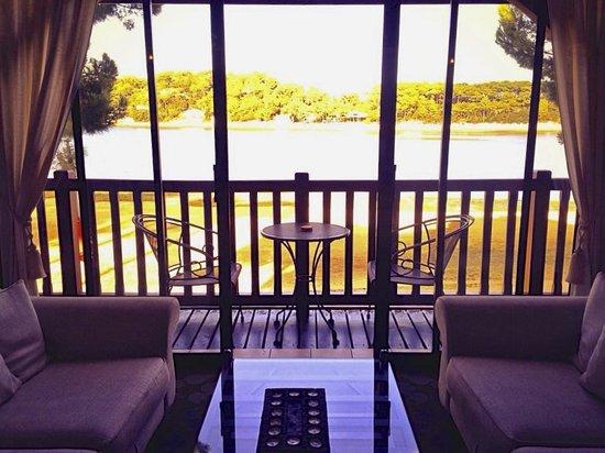 Les Hortensias du Lac : Lounge view