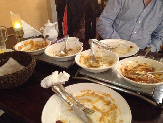 Jaipur: komplett aufgegessen! viel zu lecker, um was übrig zu lassen!
