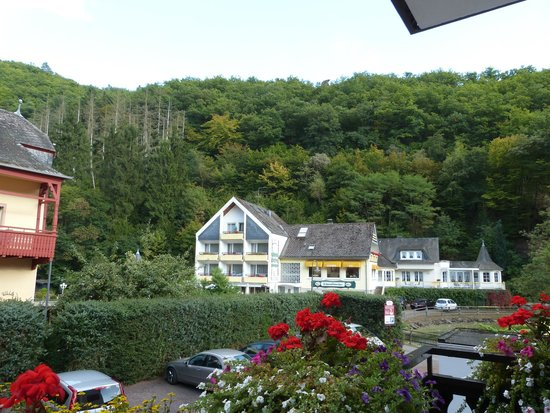 Residenz Hotel-Cafe: view from balcony