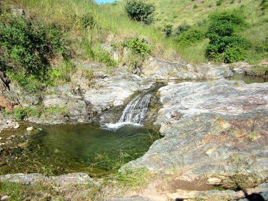 Rajasthan Trekking - Day Treks: waterfall from monsoon rains
