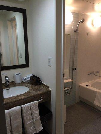 Vessel Inn Sapporo Nakajima Park : Bathroom