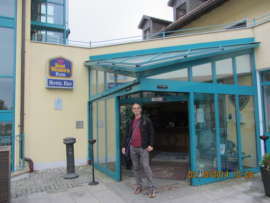 Best Western Plus Hotel Erb : In front of the Hotel